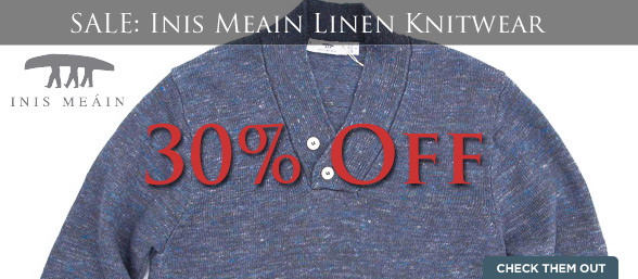 30pct Off Inis Meain Knitwear